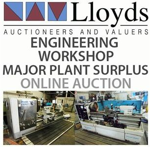 *Closing Tuesday 10 AM* Engineering Workshop & Major Plant Surplus: