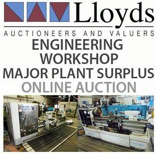 *Closing Tuesday 10 AM* Engineering Workshop & Major Plant Surplus: