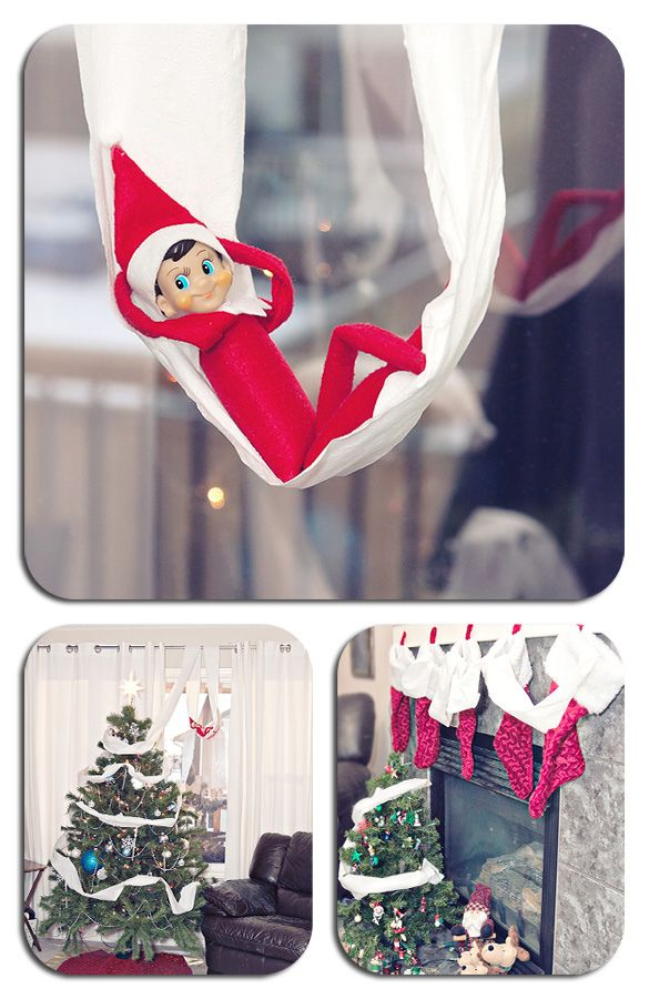 elf on the shelf idea! Gonna be so much fun this year!