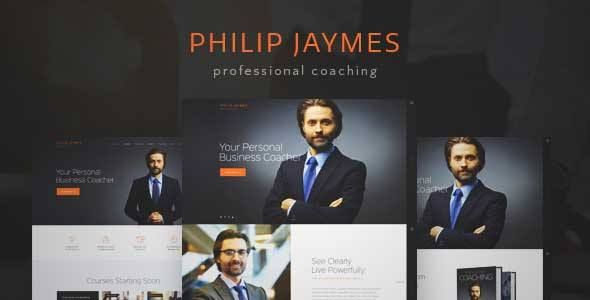 Download and review of PJ | Life & Business Coaching WordPress Theme, one of the best Themeforest Corporative themes