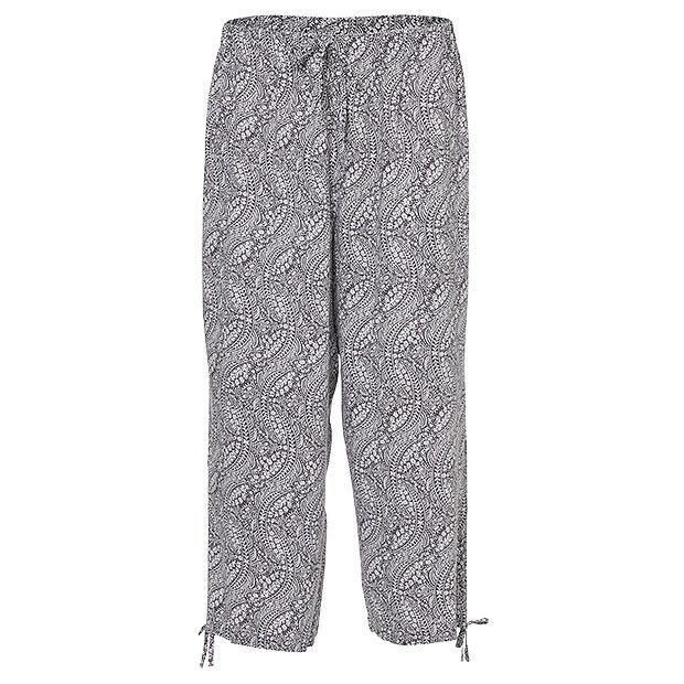 3/4 Sleep Pants - Greystone Paisley