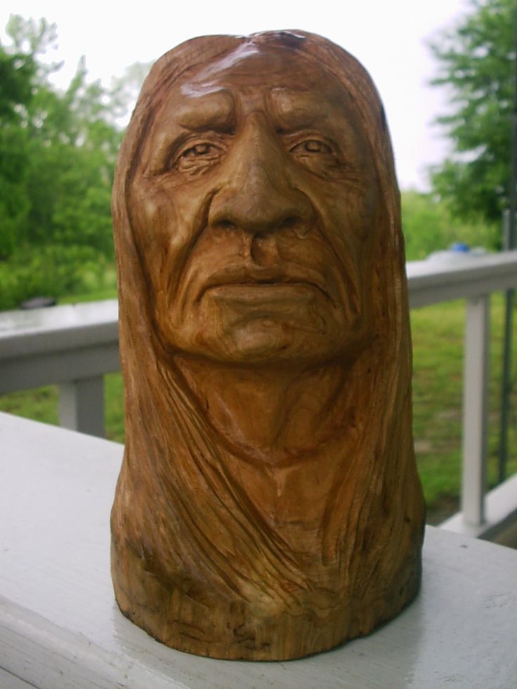 Native american wood carving bing images