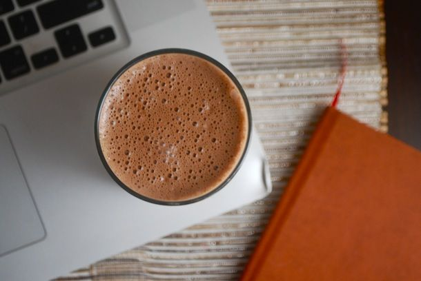 Always Order Dessert: Hot Chocolate Protein Shake -- Food Blog and Recipes