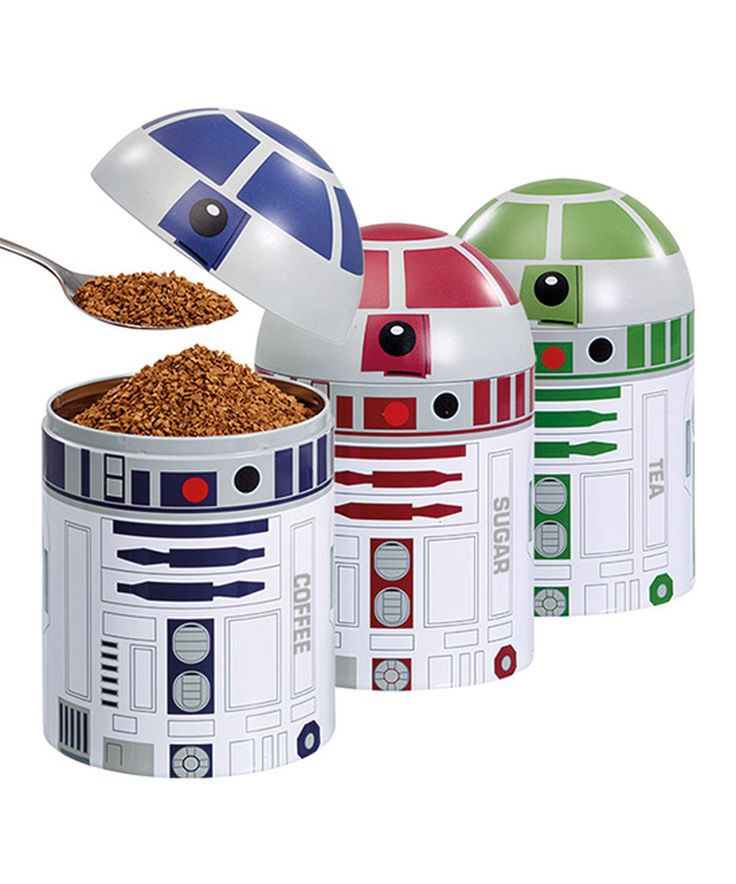 Look what I found on #zulily! Star Wars Droid Storage Container - Set of Three by Star Wars #zulilyfinds