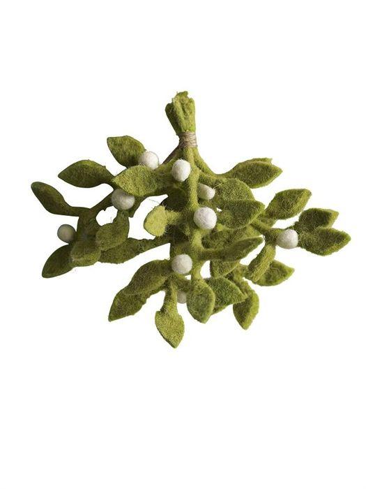 1000 images about diy mistletoes on pinterest making hair bows crochet and felt tree. Black Bedroom Furniture Sets. Home Design Ideas