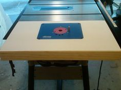 Table Saw Router Extension Delta 36-725