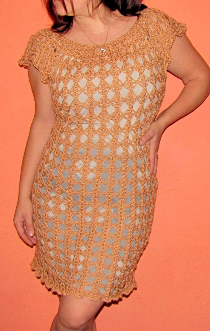 Moje robótki ręczne: Dwie sukienki :) jeden wzór