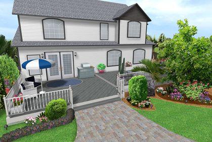 Simple Landscape design software downloads reviews Design Ideas