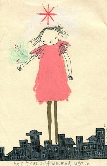 Emma Magenta; originals & prints