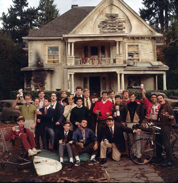 Animal House, the 1978 hit comedy about the fraternity of misfits was filmed in and around the University of Oregon, with the parade scene in Cottage Grove. Can you find all the locations?