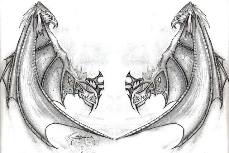 Wing Tattoo Shoulder Blades tattoo idea com...