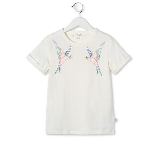 Shop the Cream Lolly T Shirt by Stella Mccartney Kids at the official online store. Discover all product information.