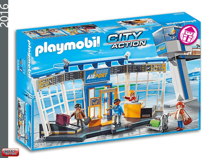 PLAYMOBIL 5338 City Airport with Tower
