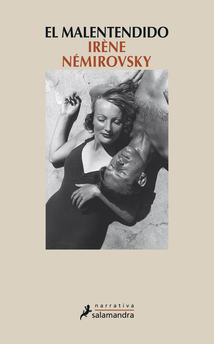"""Os recomendamos una novela de Irène Némirovsky, escritora francesa de origen ucraniano que fue víctima del Holocausto. """"El malentendido"""" (3S/8048) fue escrita en 1926 pero no fue publicada como novela hasta 1930, cuando la autora ya era famosa en Francia. El argumento principal es una historia de amor, pero la novela también es un reflejo de la vida, las costumbres, los valores, y también la decadencia, de la burguesía francesa en las primeras décadas del siglo XX."""
