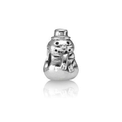 PANDORA Snowman charm. $30 #PANDORAcharm #silver