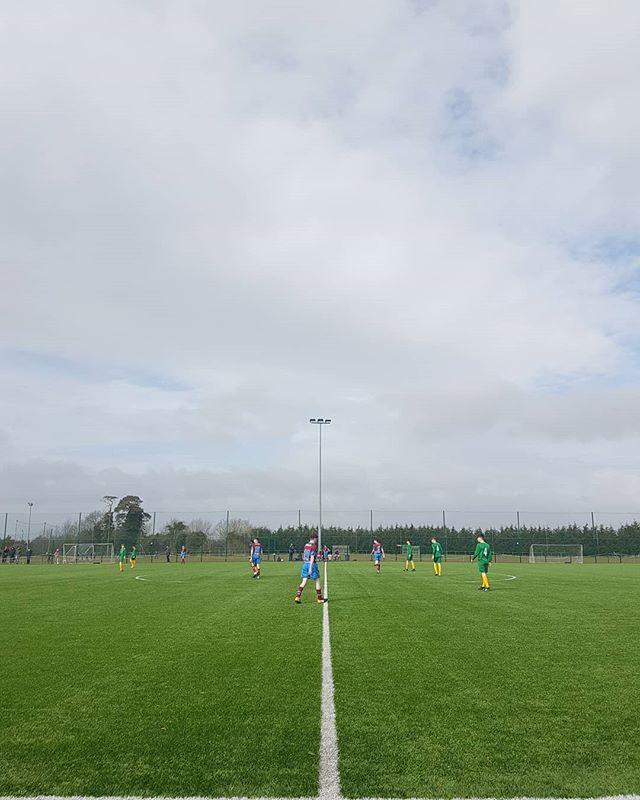 Almost start of season ... Drogheda Utd Vs Carlow/Kilkenny #u15leagueofireland