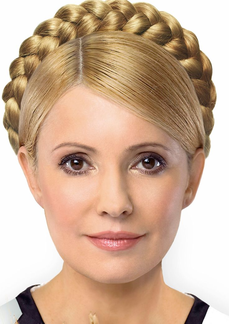 hair style with crown the most braid crown yulia tymoshenko 7500