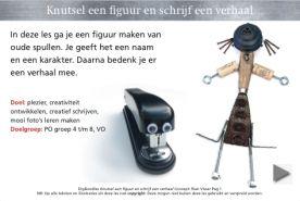 Leesbevordering, creatief schrijven en nieuwe media voor het onderwijs :: rianvisser.yurls.net  Aanrader!