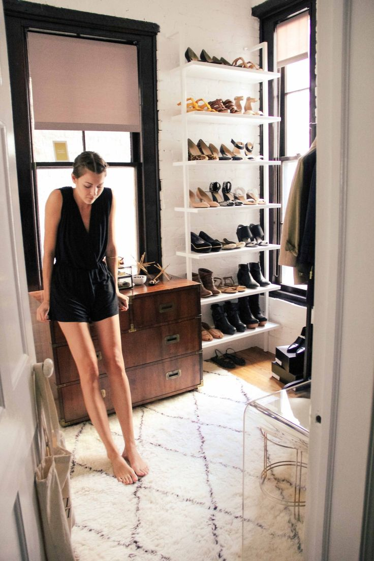1000 images about closets on pinterest shoe display for Walk in shoe closet