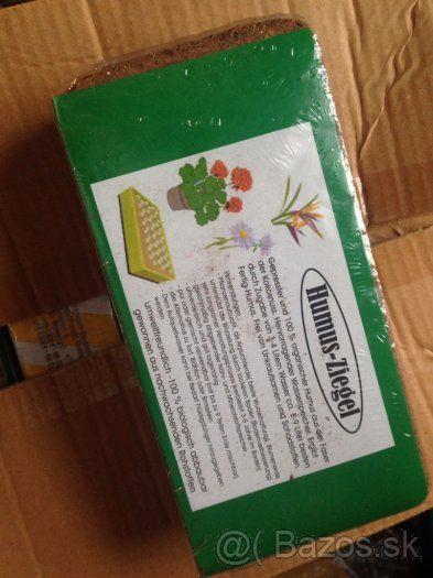 Predám kokosové vlákno na pestovanie rastlín i zeleniny - 1