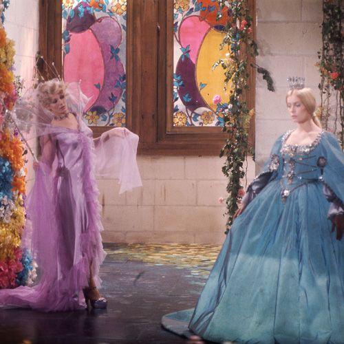La fée des Lilas et la robe couleur du temps