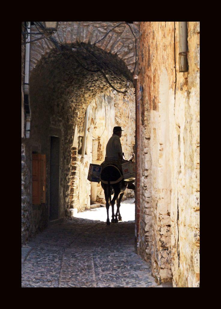 Chios adası Mesta köyü