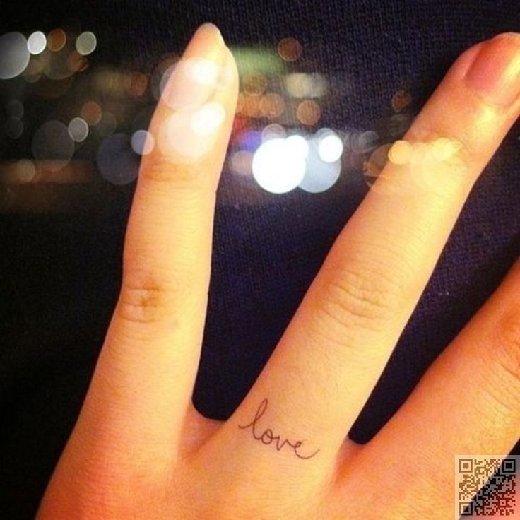 38 Tiny #Finger Tattoos That It's #Impossible Not to Love ...