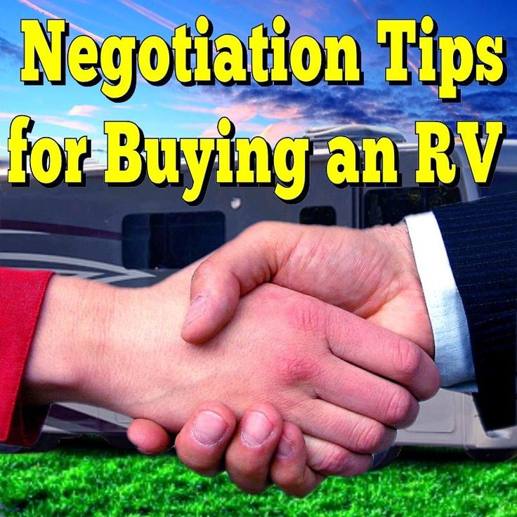 My Wife's Negotiation Tips for Buying an RV