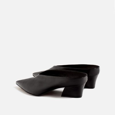 LEATHER MULES-Leather-SHOES-WOMAN | ZARA Ireland