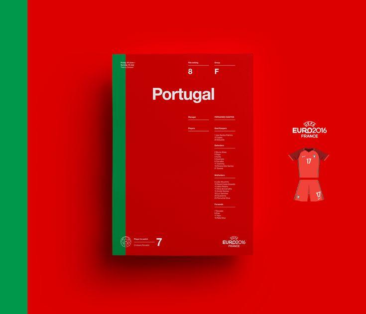 UEFA EURO 2016: Retro Poster Collection   Abduzeedo Design Inspiration