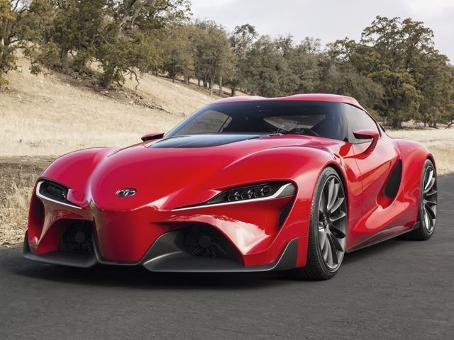 The New Toyota Supra Sports Three Electric Engines #luxury trendhunter.com