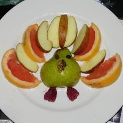 Frucht-Truthahn