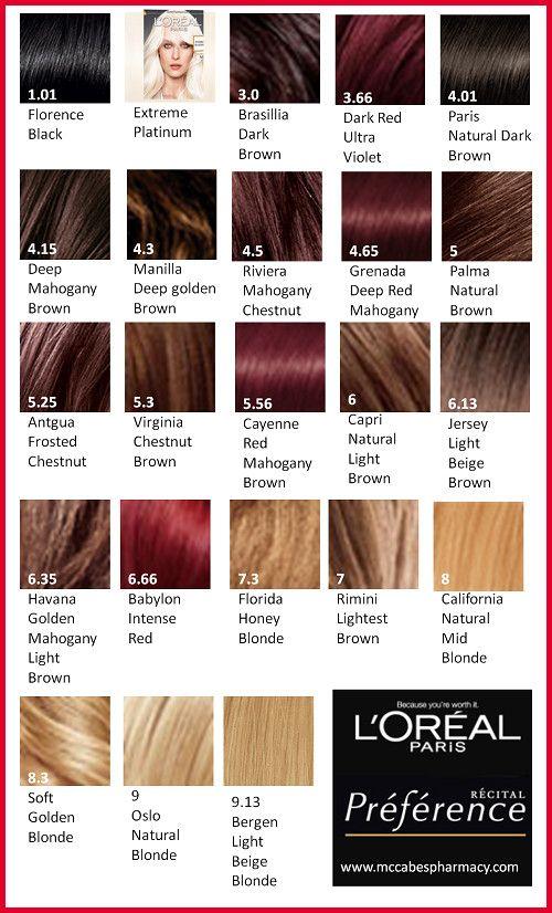 Pin By Sanskriti On Makeup Loreal Hair Color Loreal Hair Color Chart Loreal Hair