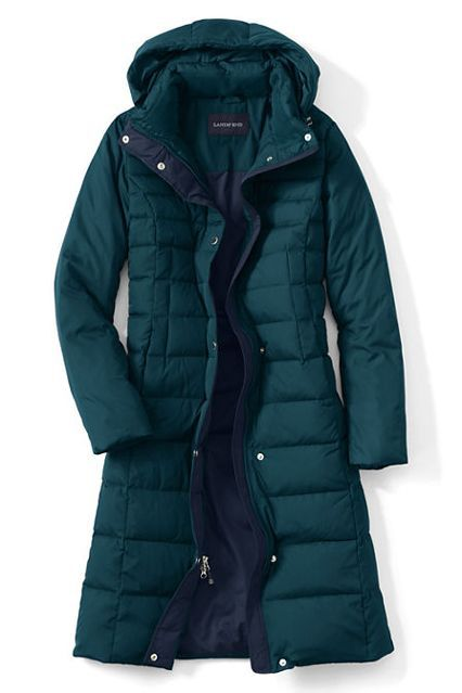 The Quasi-Technical CoatA down coat is an essential for any cold-weather climate. This deep teal shade stands out among the go-to blacks and browns.Lands' End Chalet Down Long Coat, $189, available at Lands' End....