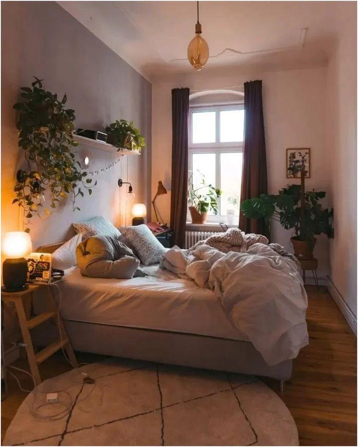 Elegant home decor 9 | Small apartment bedrooms, Bedroom ...