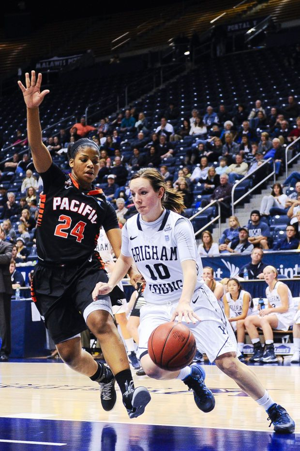 BYU Women's Basketball Schedule | Photos: BYU women's basketball vs. Pacific : CougarBlue.com