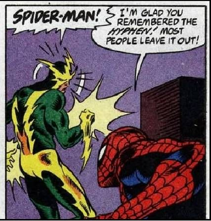 Spider-Man One-Liners