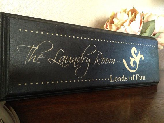 Hey, I found this really awesome Etsy listing at https://www.etsy.com/listing/123106545/laundry-room-sign-laundry-room-wall