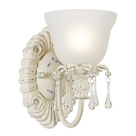 284 best for the home lighting images on pinterest ceiling old world designer 5 34 wide antique white sconce mozeypictures Choice Image
