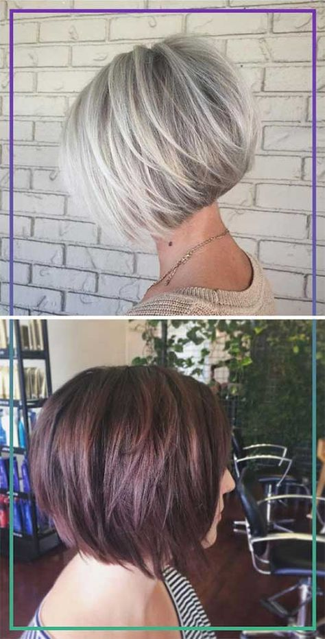 Layered Style Bob Haircuts You Will Love   Bob Hairstyles 2017 - Short Hairstyles for Women
