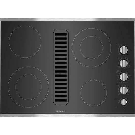 Jenn Air Electric Radiant Downdraft Just 4 Burners In