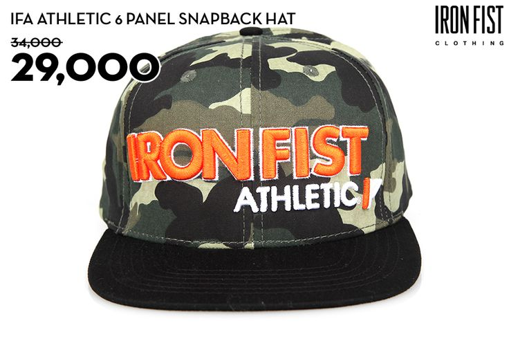 IFA ATHLETIC SNAPBACK HAT (CAMO) / 34,000원 → 29,000원 http://www.ironfist.co.kr/shop/goods/goods_view_athletic.php?goodsno=434  #ironfist #아이언피스트 #athletic #운동 #건강 #피트니스 #스포츠 #모자 #스냅백