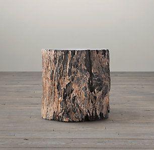 Petrified Wood Stump Collection | RH