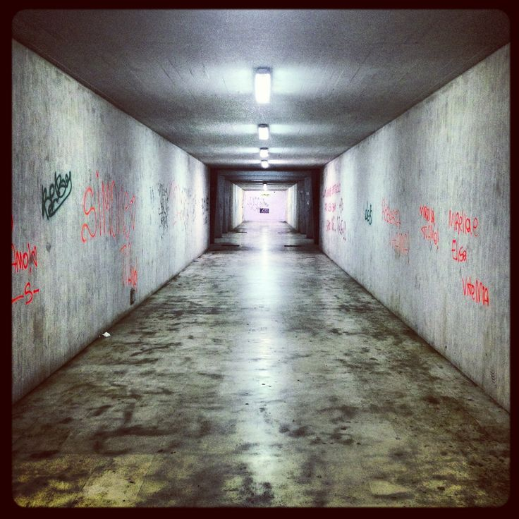 Centocelle Tunnel #rome #tunnel #underpass