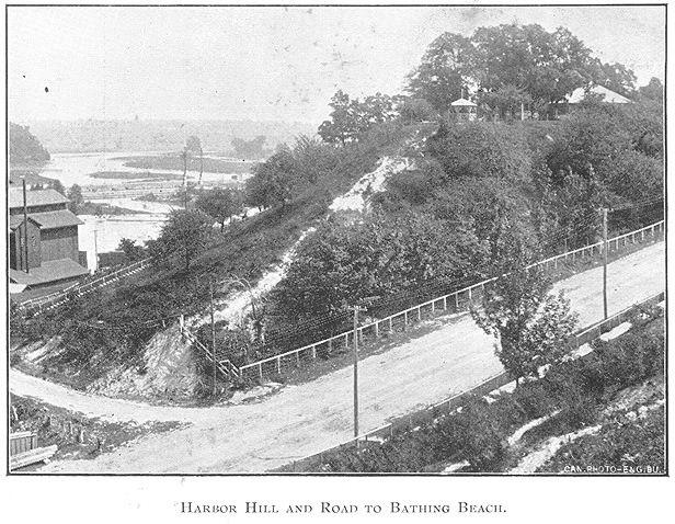 Harbour Hill, Goderich, Ontario c.1897 #Goderich #RediscoverGoderich #VintageGoderich