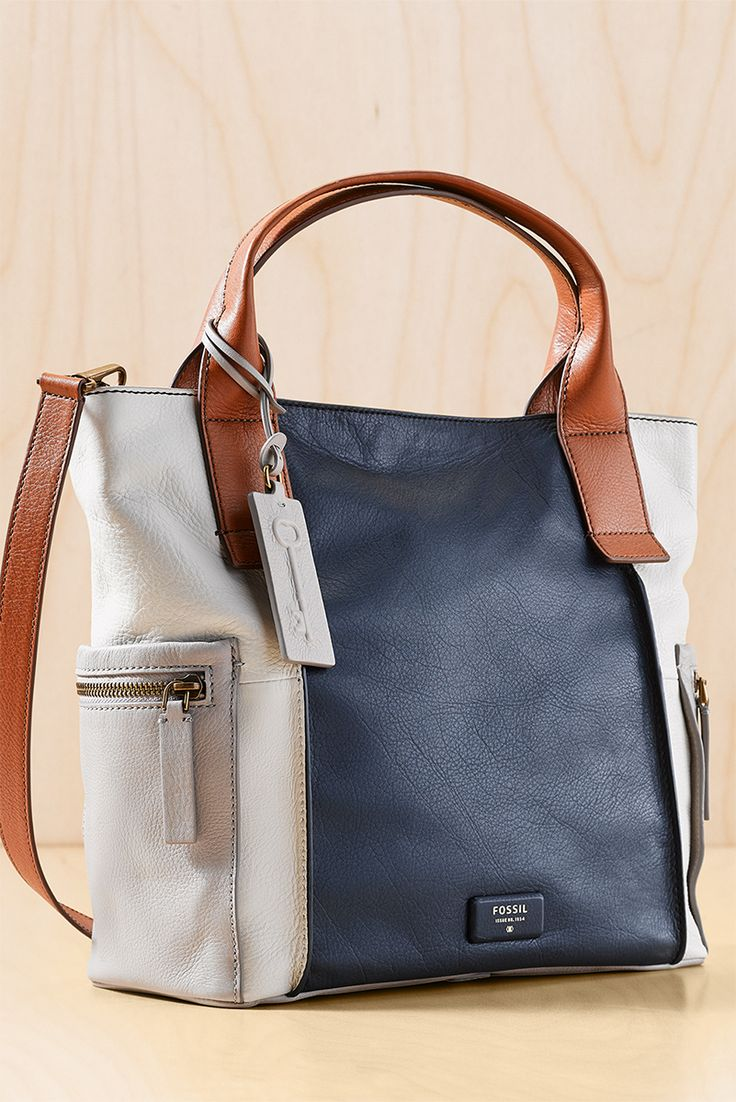 Looking for a weekend satchel that holds it all? The Emerson Satchel's pretty colorblock makes for beautiful bag with a lot of functionality.