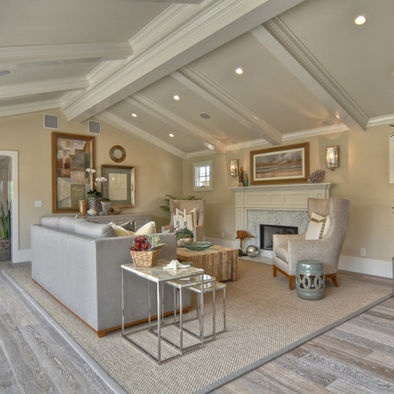 81 best images about flooring on pinterest terrace - Living room ideas with oak flooring ...