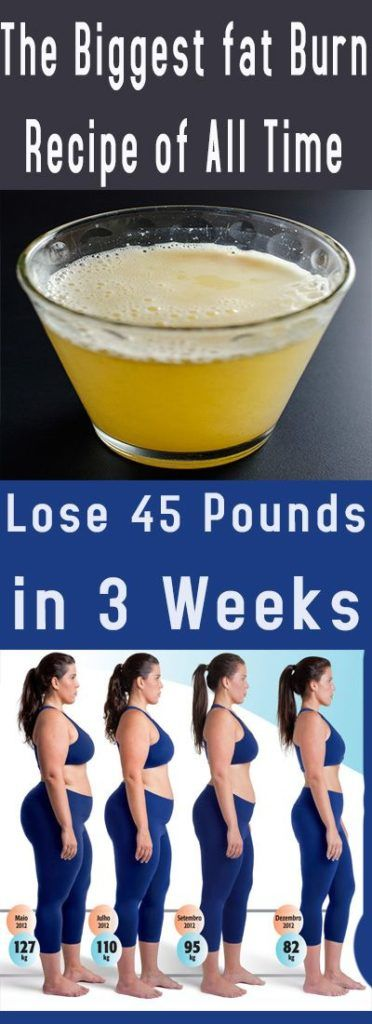 How To Lose 45 Pounds Of Body Weight in 3 Weeks – Medi Idea