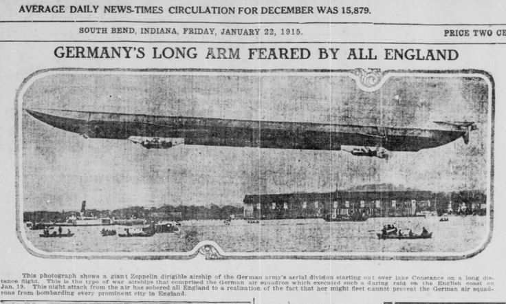the times history accounts of zeppelin air raids on england Bringing all the news of the hull zeppelin raid as  accelerated by shock of german zeppelin air raid  extract from the zeppelin in combat- a history of the.