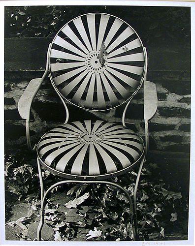 Black and White Chair Edward Weston